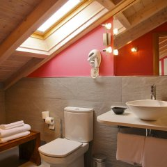 Отель Posada Casona de la Ventilla Испания, Ларедо - отзывы, цены и фото номеров - забронировать отель Posada Casona de la Ventilla онлайн ванная фото 2