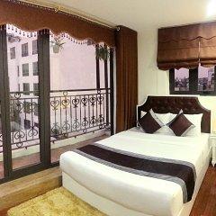 Отель Trang Trang Premium Hotel Вьетнам, Ханой - отзывы, цены и фото номеров - забронировать отель Trang Trang Premium Hotel онлайн балкон