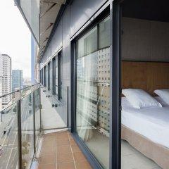 Отель Barcelona Princess Испания, Барселона - 8 отзывов об отеле, цены и фото номеров - забронировать отель Barcelona Princess онлайн балкон