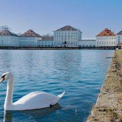 Отель Arthotel Ana Munich Messe Мюнхен приотельная территория фото 2