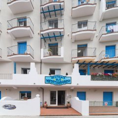 Отель Residence Blu Mediterraneo вид на фасад фото 2