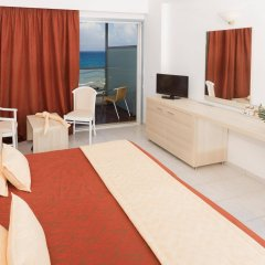 Отель Belair Beach Греция, Родос - 1 отзыв об отеле, цены и фото номеров - забронировать отель Belair Beach онлайн комната для гостей фото 3