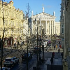 Отель Budget Central Литва, Вильнюс - отзывы, цены и фото номеров - забронировать отель Budget Central онлайн балкон