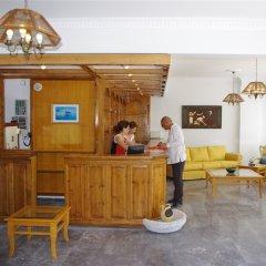Отель Kamari Blu Греция, Остров Санторини - отзывы, цены и фото номеров - забронировать отель Kamari Blu онлайн интерьер отеля фото 3