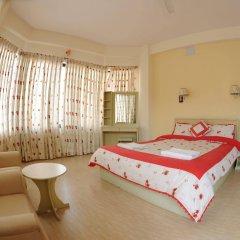 Отель Trekkers Inn Непал, Покхара - отзывы, цены и фото номеров - забронировать отель Trekkers Inn онлайн комната для гостей
