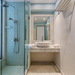 Отель Makarios Греция, Остров Санторини - отзывы, цены и фото номеров - забронировать отель Makarios онлайн ванная