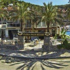 Flora Palm Resort Турция, Олудениз - отзывы, цены и фото номеров - забронировать отель Flora Palm Resort онлайн пляж фото 2