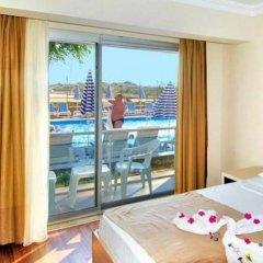 Aperion Beach Hotel Сиде комната для гостей фото 3