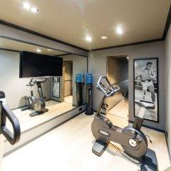 Отель Secret Suites Brussels Royal Брюссель фитнесс-зал