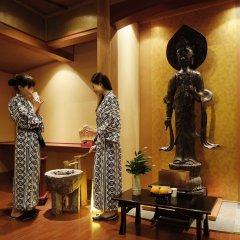 Отель Misasa Yakushinoyu Mansuirou Мисаса сауна