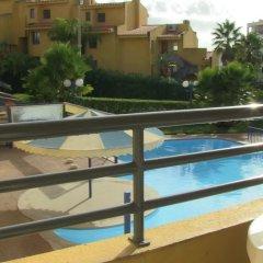 Отель Apartamentos Rio Португалия, Виламура - отзывы, цены и фото номеров - забронировать отель Apartamentos Rio онлайн балкон