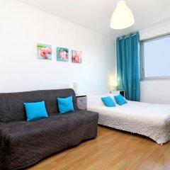 Отель Appartement Residence Plein Soleil Франция, Ницца - отзывы, цены и фото номеров - забронировать отель Appartement Residence Plein Soleil онлайн комната для гостей фото 3