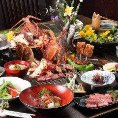 Отель Ryokan Aso no Shiki Минамиогуни питание фото 2