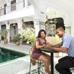 Отель Rodamon Riad Marrakech Марокко, Марракеш - отзывы, цены и фото номеров - забронировать отель Rodamon Riad Marrakech онлайн бассейн фото 3