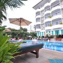 Отель Jp Villa Паттайя бассейн