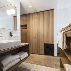 Hotel Schwarzschmied Лана ванная