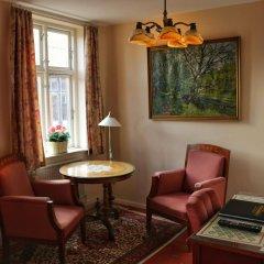 Hotel Postgaarden интерьер отеля