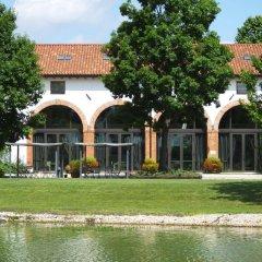 Отель Agriturismo La Risarona Грумоло-делле-Аббадессе приотельная территория фото 2