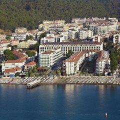 Emre Beach Hotel Турция, Мармарис - отзывы, цены и фото номеров - забронировать отель Emre Beach Hotel онлайн пляж