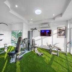Отель DaVinci Pool Villa Pattaya фитнесс-зал