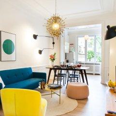 Отель Sweet Inn Apartments Louise Бельгия, Брюссель - отзывы, цены и фото номеров - забронировать отель Sweet Inn Apartments Louise онлайн комната для гостей фото 3