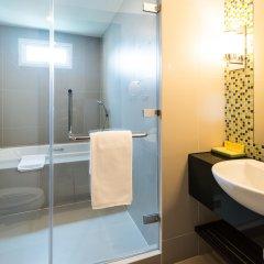 Отель Legacy Suites Sukhumvit by Compass Hospitality Таиланд, Бангкок - 2 отзыва об отеле, цены и фото номеров - забронировать отель Legacy Suites Sukhumvit by Compass Hospitality онлайн ванная