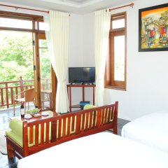 Отель Hoi An Osaka Riverside Villa & Spa комната для гостей фото 2