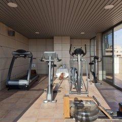 Hotel Valencia Center фитнесс-зал
