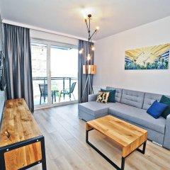 Апартаменты Grand Apartments - Bastion Wałowa Гданьск комната для гостей фото 4