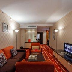 Гостиница Azimut Moscow Olympic комната для гостей фото 4