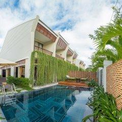 Отель Silk Sense Hoi An River Resort Вьетнам, Хойан - отзывы, цены и фото номеров - забронировать отель Silk Sense Hoi An River Resort онлайн бассейн фото 3