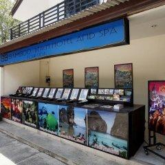 Bamboo Beach Hotel & Spa интерьер отеля фото 3