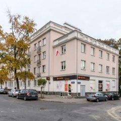 Отель P&O Plac Wilsona Польша, Варшава - отзывы, цены и фото номеров - забронировать отель P&O Plac Wilsona онлайн парковка