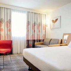 Отель Novotel Lyon Gerland Musée des Confluences комната для гостей