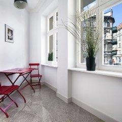 Отель Apartamenty Pomaranczarnia Познань балкон
