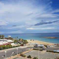 Отель Astreas Beach Hotel Кипр, Протарас - 2 отзыва об отеле, цены и фото номеров - забронировать отель Astreas Beach Hotel онлайн пляж фото 3