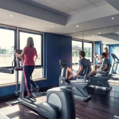 Отель Mercure Paris Boulogne Булонь-Бийанкур фитнесс-зал фото 2