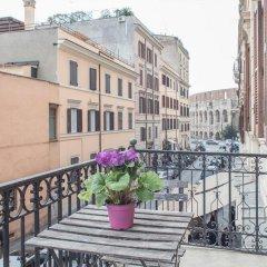 Отель Appartamento Santi Quattro 1 E 2 Colosseo балкон