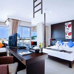 Отель Andakira Hotel Таиланд, Пхукет - отзывы, цены и фото номеров - забронировать отель Andakira Hotel онлайн комната для гостей фото 3