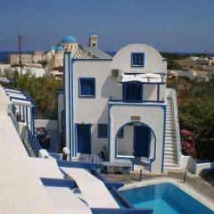Отель Roula Villa Греция, Остров Санторини - отзывы, цены и фото номеров - забронировать отель Roula Villa онлайн бассейн фото 2
