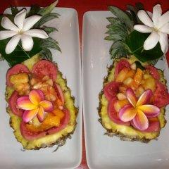 Отель Green Lodge Moorea Французская Полинезия, Папеэте - отзывы, цены и фото номеров - забронировать отель Green Lodge Moorea онлайн питание