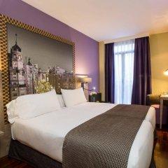 Отель Leonardo Hotel Madrid City Center Испания, Мадрид - 1 отзыв об отеле, цены и фото номеров - забронировать отель Leonardo Hotel Madrid City Center онлайн комната для гостей фото 4