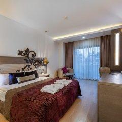 Отель Kirman Belazur Resort And Spa Богазкент комната для гостей фото 3