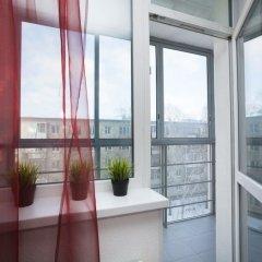 Апартаменты «Этажи Библиотечная-Комсомольская» Екатеринбург балкон