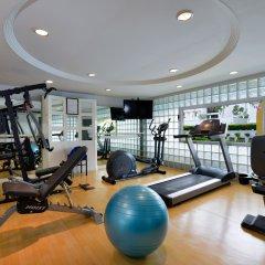 Отель BelAire Bangkok Бангкок фитнесс-зал