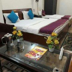 Отель Hanuwant Palace Индия, Нью-Дели - 1 отзыв об отеле, цены и фото номеров - забронировать отель Hanuwant Palace онлайн комната для гостей фото 5