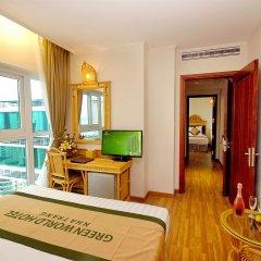 Green World Hotel Nha Trang Нячанг удобства в номере фото 2
