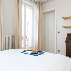 Апартаменты Marais - Francs Bourgeois Apartment комната для гостей фото 2