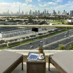 Отель Raffles Dubai балкон