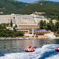 Sunshine Hotel And Spa Корфу приотельная территория